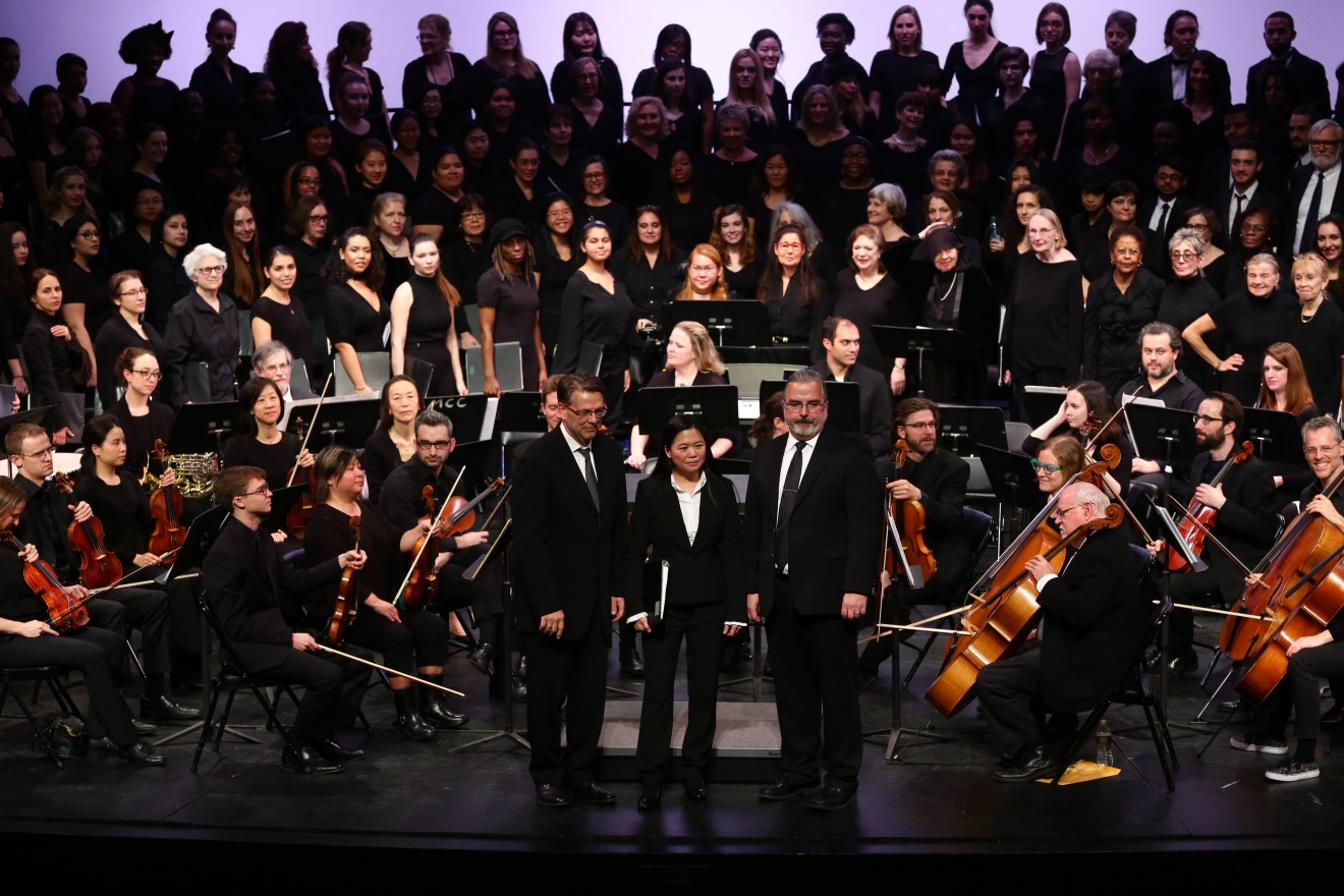 BMCC and Hunter College Chorus Collaboration, 2015
